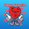 Valentine Heart Stickers valentine