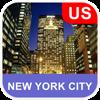 New York City, USA Offline Map - PLACE STARS