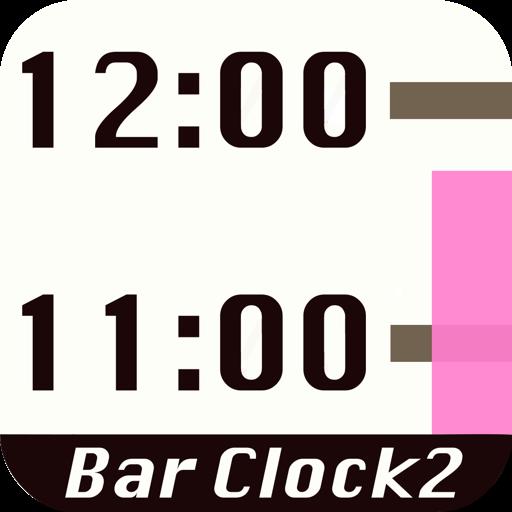 Bar Clock 2 - Bar type Часы, календарь