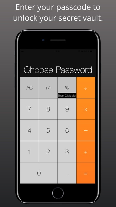 Screenshot Fake Calculator - Secret Vault & Private Browser