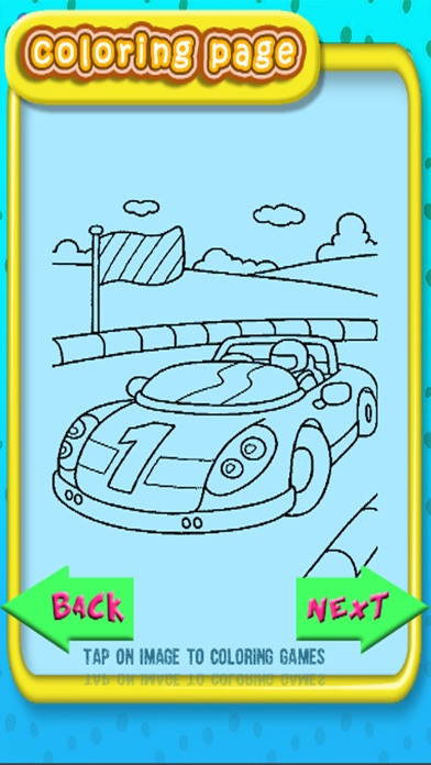 Drawing Racing Car Game Coloring Book Version On The App Store