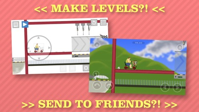 Screenshots of Happy Wheels for iPhone