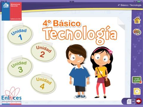 Tecnología 4º Básico screenshot 1