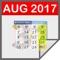 download Malaysia Calendar 2017, Public Holidays & Tasks