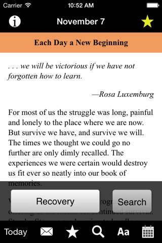 Each Day a New Beginning: Meditations for Women screenshot 3
