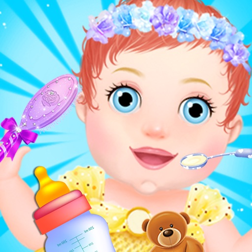 New Baby Care & DressUp Icon