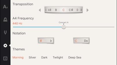 Screenshot #7 for Cadenza: Tuner + Metronome