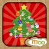 兒童聖誕節遊戲 - 聖誕貼紙和填色本