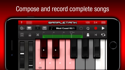 SampleTank Screenshot