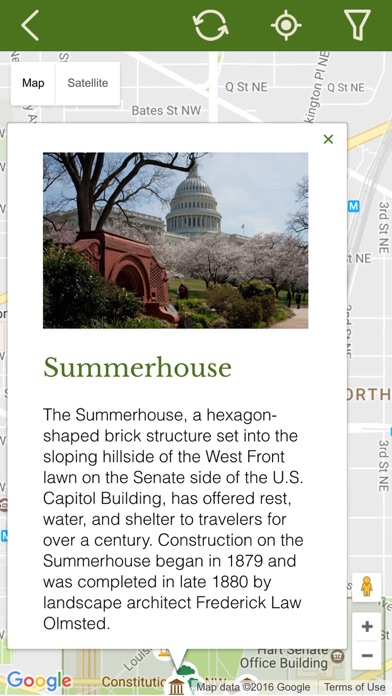 US Capitol Grounds On The App Store - Us capitol grounds map