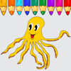 Octopus Coloring Book Game For Kids Edition Wiki