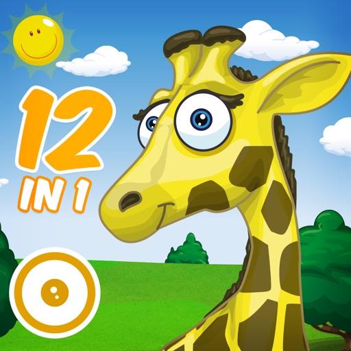 精彩的动物游乐场 - 给幼儿和儿童的12个基本经典游戏