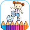 Sports Coloring Book Games for kids Wiki