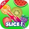 Ninja Veggie Fruit Slice - Scissor Swipe & Smash