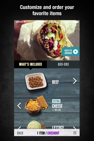 Taco Bell screenshot 1