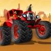Tractor Stunt Wheels - Tractor Stunt Race 4 Kids