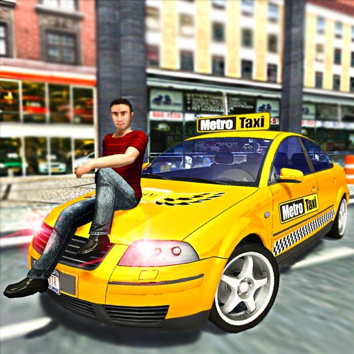 Real Fun Taxi Rush:Cab Driver iOS App