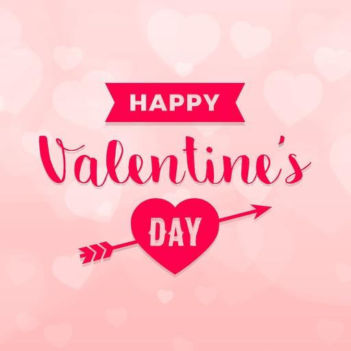 День Святого Валентина - Стикеры для iMessage