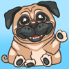 PugLoveMoji - Stickers & Keyboard For Pugs