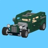 Hot Rod for LEGO 10242 Set - Building Instructions building