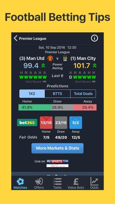 Footballian - Betting Tips Screenshot