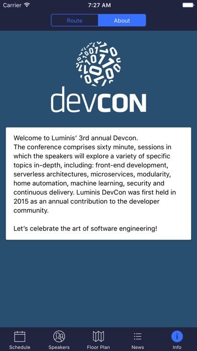 Screenshot #9 for Luminis DevCon