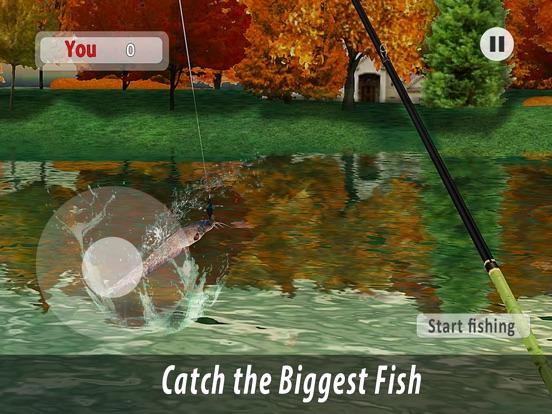 Lake Fishing Full для iPad