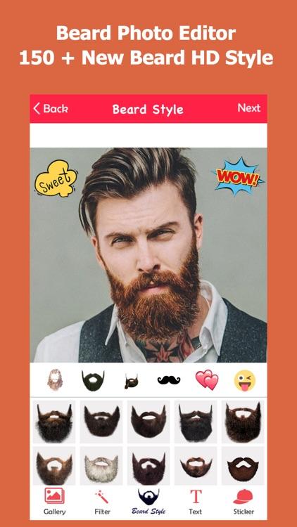 Beard Booth Photo Editor Make Stylish Poster