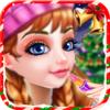 Jiajia Han - Christmas princess salon artwork