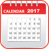 2017 Calendar Year Month Weeks Holiday Dates