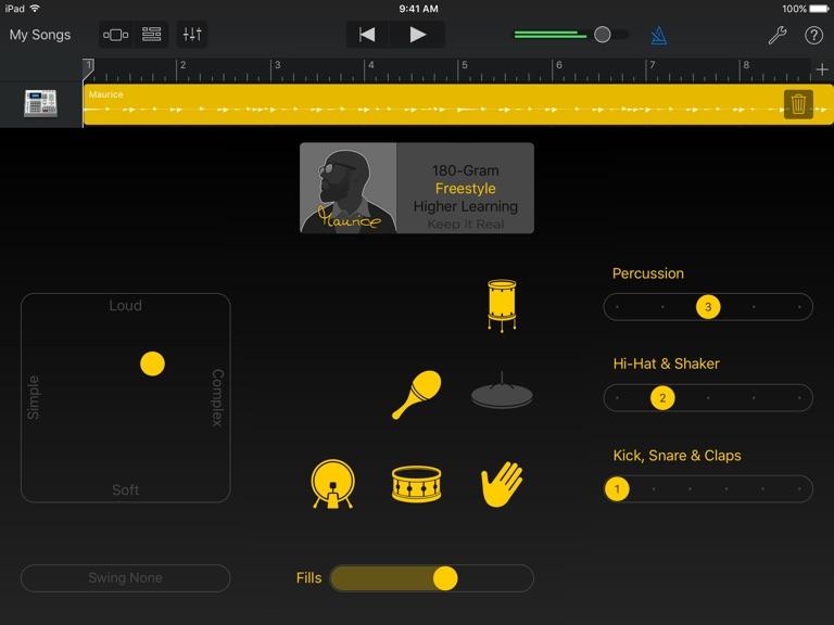 iPad Skjermbilde 4