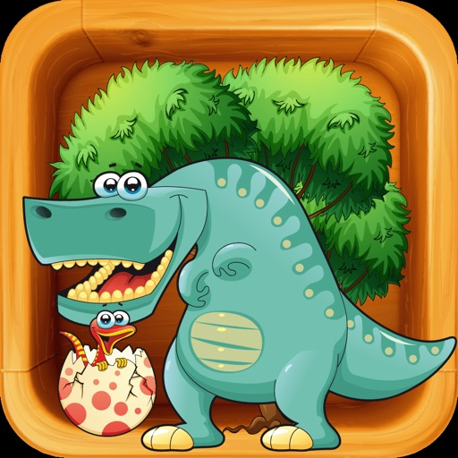 Dinosaurs Differences Game iOS App