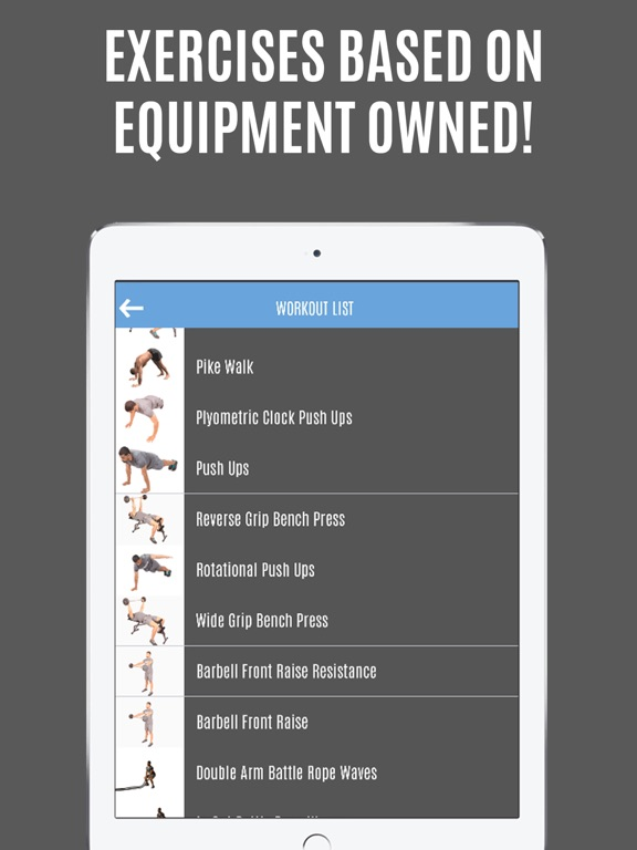 Screenshot #2 for Gymster - Gym Workouts & IIFYM Diet Meal Recipes