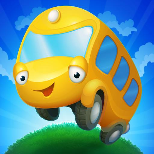 История про Автобус: игры для детей