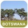 博茨瓦納 離線地圖 - PLACE STARS