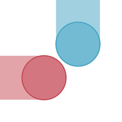 Balls Collision - avoid clashes between the dots! iOS App