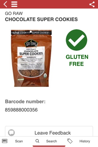 The Gluten Free Scanner FULL - Barcode Scanner screenshot 3