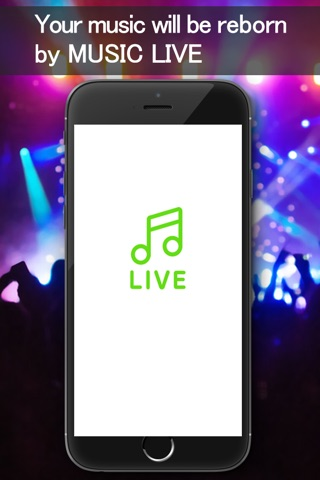 Music Live - Music player&Live concert simulator screenshot 4