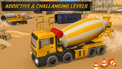Town Tower Contractor N Off Road Cargo Truck Drive