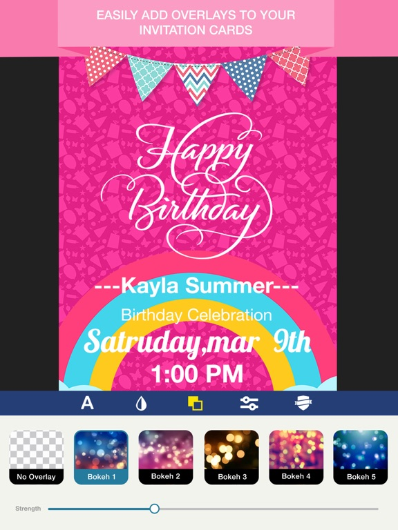 Invitation Maker Invite Maker on the App Store – Birthday Invitation Maker
