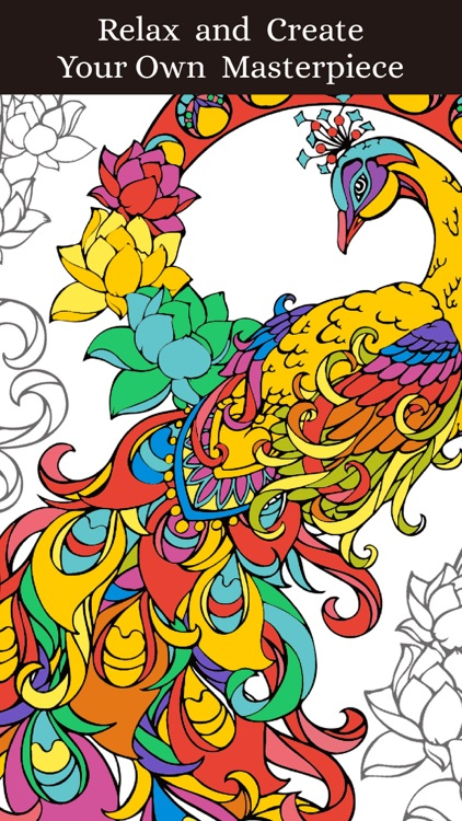 Animal Coloring Pages Book For Adults