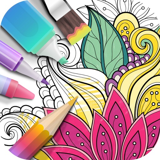 Coloring Book 2017 Icon