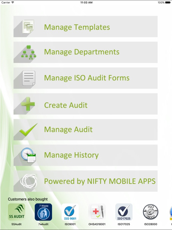 ISO 22000- Internal Food Safety Audit on the App Store