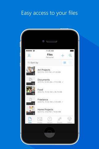Microsoft OneDrive screenshot 1