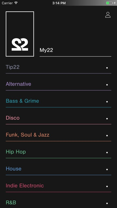 22tracks Screenshot