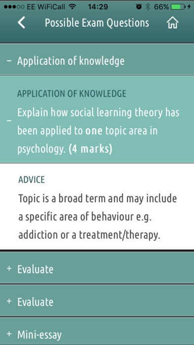 download AQA Psychology Year 2 appstore review