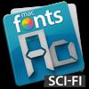 macFonts Sci-Fi