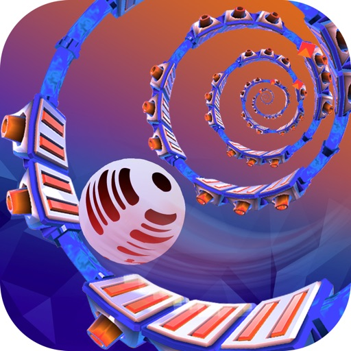 Spiral Ball : Space Ball Challenge iOS App