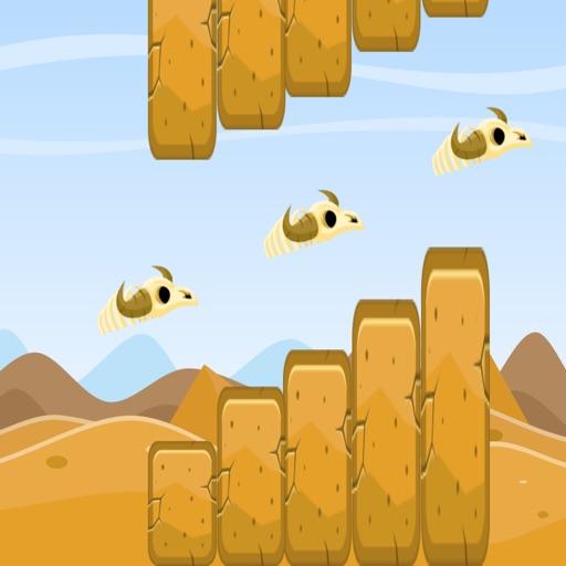 Flappy Skull - Desert Adventure iOS App