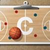 Tablilla de entrenador de baloncesto